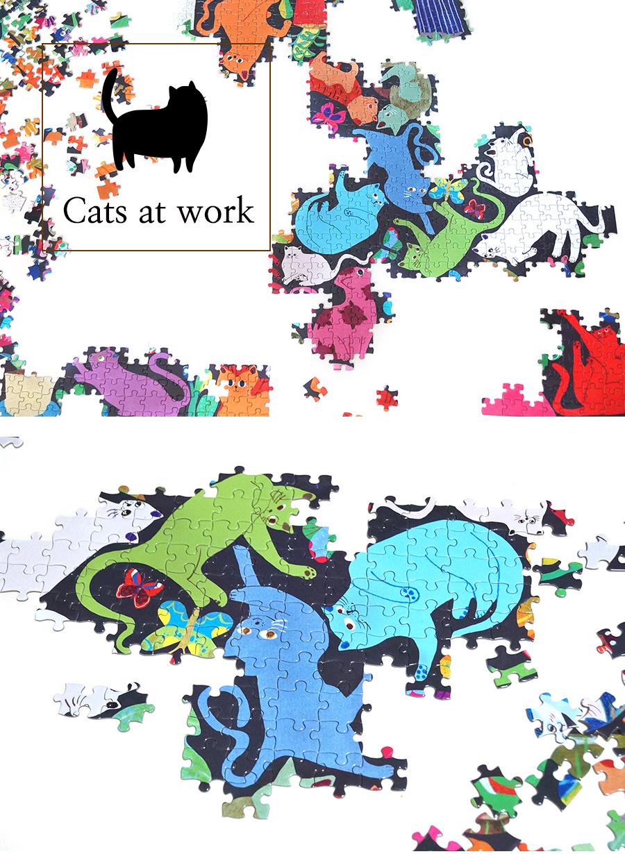 고양이들 1008피스 직소퍼즐 - 공간27, 29,800원, 교육완구, 퍼즐