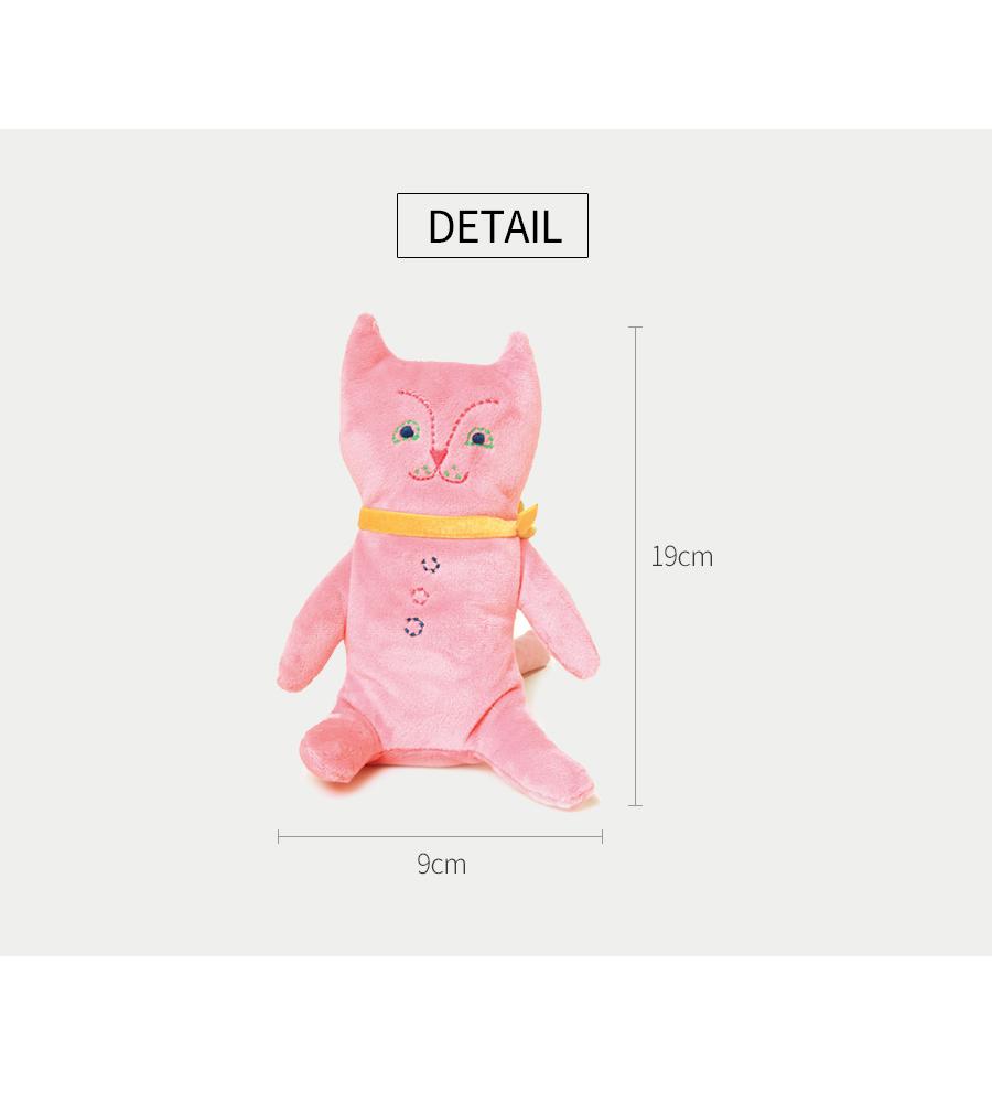 이부 애착인형 고양이 - 공간27, 22,000원, 장난감, 인형/애착인형